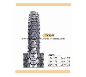 black color tire TY1007 with beautiful pattern pictures & photos