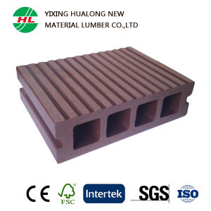 Hollow High Quality WPC Decking Outdoor Floor (M21) pictures & photos