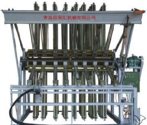 Open Type Four Sides Hydraulic Clamp Carrier Machine Length 2400 20 Sections Manual Type (not semi-auto) pictures & photos