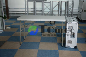 Tabletop Booth with Interpreter Table