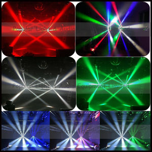 8PCS 10W RGBW 4in1 LED Mini Moving Head Spider Light pictures & photos
