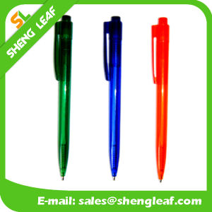 Promotional Plastic Ball Point Pen for Office Supply (SLF-PP023) pictures & photos