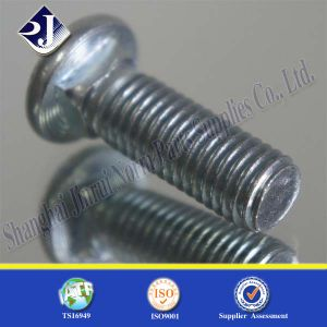 Zinc Blue Plated Flat Head Bolt pictures & photos