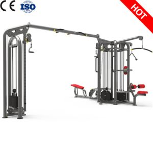 Professional Self-Designed Gym Fitness Equipment 6 Station-Sigle Pod with Cross Over pictures & photos
