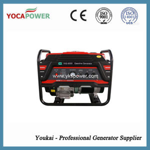 5.5kVA Single Phase Small Portable Open Gasoline Generator Set pictures & photos