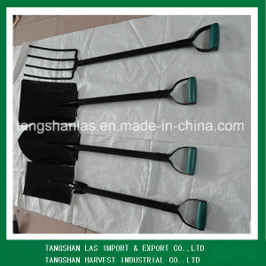 Shovel One Piece Steel Handle Shovel Popular in South Africa pictures & photos
