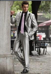 100% Wool Linen Wedding Tailored Bespoke Men Suits pictures & photos