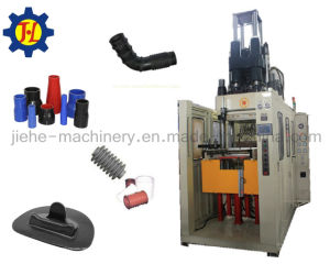 Rubber Silicone Injection Mould Machine with Vertical Type Made in China pictures & photos