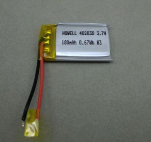 High Quality Lipo Battery 402030 3.7V Li-ion Batteries 3.7V 4.2V 180mAh Accept Paypal pictures & photos