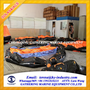 Both Sides of a Canopied Reversible Inflatable Liferafts pictures & photos