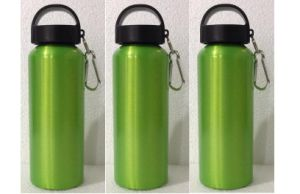 600ml Various Sizes Food Grade BPA Free Water Bottle, Portable Metal Bottle With Carabiner pictures & photos