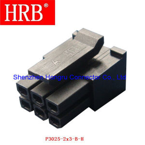Receptacle Housing Dual Row Wire to Wire Connector pictures & photos