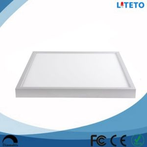 surface mounted color 600600mm 40w smd2835 led panel lights residential and