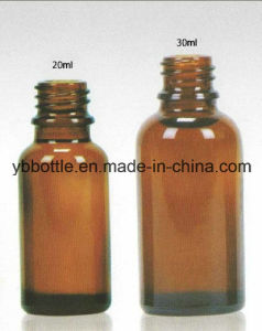 20/30ml Round Boston Bottle Glass Bottles pictures & photos
