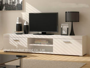 Durable TV Cabinet with Matting Finished Drawers (HHTV06) pictures & photos