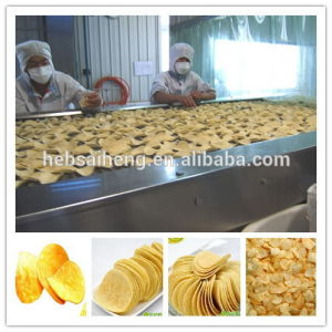 Small Scale Fried Fresh Potato Chips Making Production Line (SH150) pictures & photos