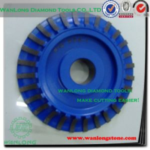 Precision Diamond Grinding Wheels for Stone -Diamond Plated Grinding Wheels pictures & photos