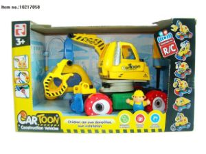 4 Channel Construction Toys of Truck with Light for Kids pictures & photos