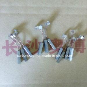 manufacturering silver graphite carbon brush J390 pictures & photos
