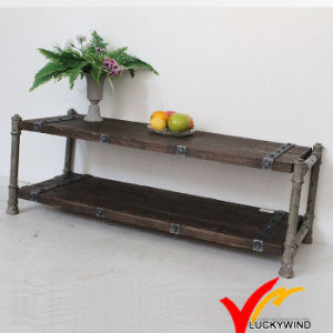 Fsc Shabby Chic Antique Vintage Industrial French Country Wooden Coffee Table pictures & photos