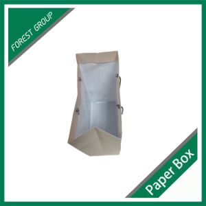 Square Bottom Film Printed Shopping Paper Bag pictures & photos