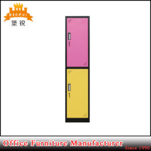 Jas-010 Office School Hotel Furniture Double Tier Standard Metal Clothes Locker pictures & photos