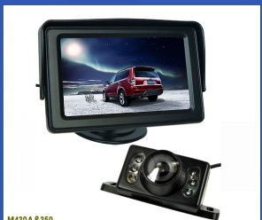"4.3"" Digital Car Rear View Monitor with Night Vision Camera pictures & photos"