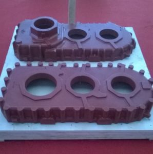 Sand Casting, Iron Casting, Kw Line Casting, Pinch Plate Parts for Railway & Subway pictures & photos