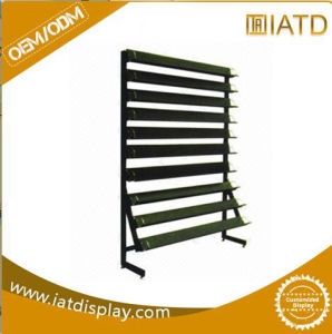 Two Sides Metal Retail Store Display Shoe Racks pictures & photos