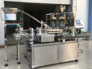 Automatic Threaded Caps Aluminum Lid Bottle Capping Machine pictures & photos