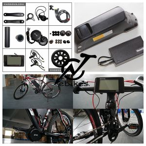 48V 750W Bbso2 MID Motor Kit with Electric Bike Battery pictures & photos