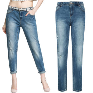 Lady′s 2016 Fashion Leisure Skinny Jeans Pants pictures & photos