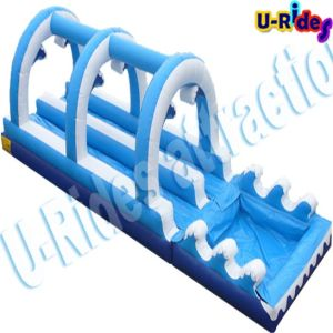 PVC Tarpaulin Inflatable Slide with Pool pictures & photos