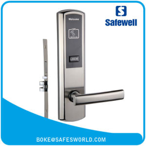 High Quality Stainless Steel Keyless Hotel Lock with M1 Card pictures & photos