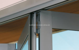 Maximum Openness Residential Frame Folding Aluminium Doors pictures & photos