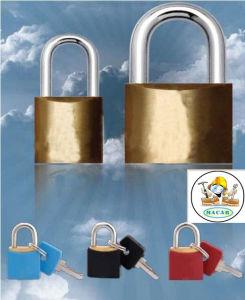 Mok Lock W205 Top Security Brass Padlock with Master Key System
