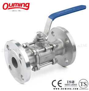 3PC Flanged Ball Valve (Economical type) pictures & photos