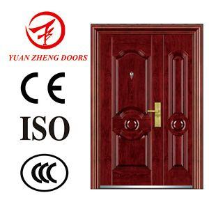 Exterior Sliding Single Double Metal Door for Iran pictures & photos