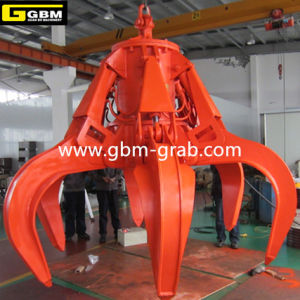 Gbm Hydraulic Orange Peel Grab Housing Waste Grapple Hydraulic Refuse Orange Peel Grab pictures & photos