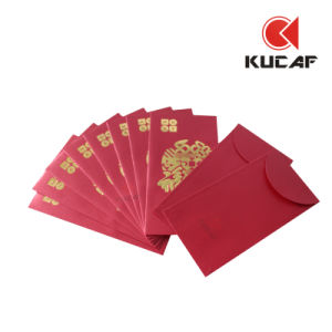 Custom Cheap Red Pocket for Wedding pictures & photos