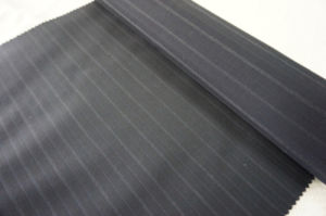 Wool Fabric for Suit 100%Wool Streak