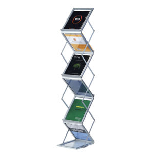 Collapsible A4 Brochure Stand Foldaway Poster Stand pictures & photos