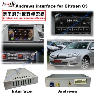 Car HD Mirrorlink Multimedia Android GPS Navigation Video Interface for (13-16) Citroen C5 pictures & photos