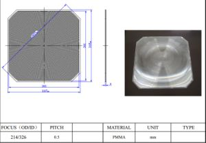 Fresnel Lens for Solar Photovoltaic pictures & photos