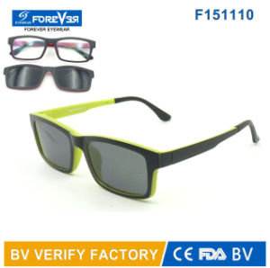 F151110 New Design Ultrathin Magnetic Sunglasses&Reader&Optical Glasses pictures & photos