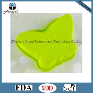 Big Size Butterfly Silicone Cake Baking Pan Silicone Muffin Pan Sc10