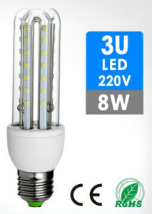 3u Shape 8W LED Light pictures & photos