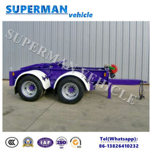 Europen Superlink Cargo Drawbar Dolly Trailer for Sales pictures & photos