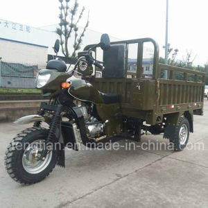 2016 New Gasoline 3 Wheeled Trike for Transportation pictures & photos