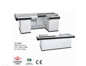 Factory Direct Design Cashier Desk for Chain Shopping Mall pictures & photos